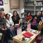 Knitters at VHC
